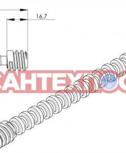 Толкатель сливного механизма инсталляции Wisa Quadro 8050390107