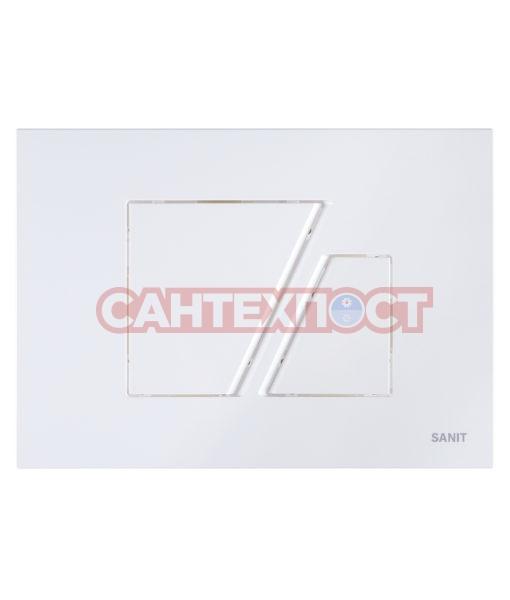 Кнопка инсталляции Sanit S707 Белая 16.707.01..0000