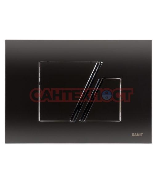 Кнопка инсталляции Sanit S707 Глянцевый хром 16.707.81..0000