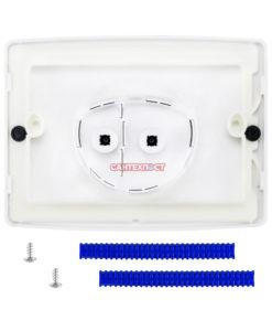 Двухрежимная кнопка слива для инсталляции Sanit S701 белая 16.701.01..0000 Подходит для инсталляции Sanit с двумя тросиками.