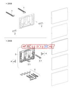 Монтажный комплект для кнопки слива инсталляции Geberit Sigma / Samba / Bolero 241.874.00.1