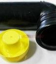 Патрубок 90 мм 90 градусов для инсталляции Geberit 366.061.16.1