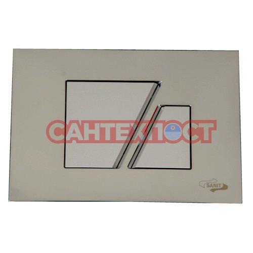 Кнопка инсталляции Sanit S707 Матовый хром 16.707.93.0000