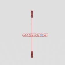 Тяговый трос красный для сливного механизма инсталляции Sanit 02.769.00..0000