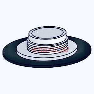 Кольцо клапана слива для инсталляции Sanit 01.086.00.0000
