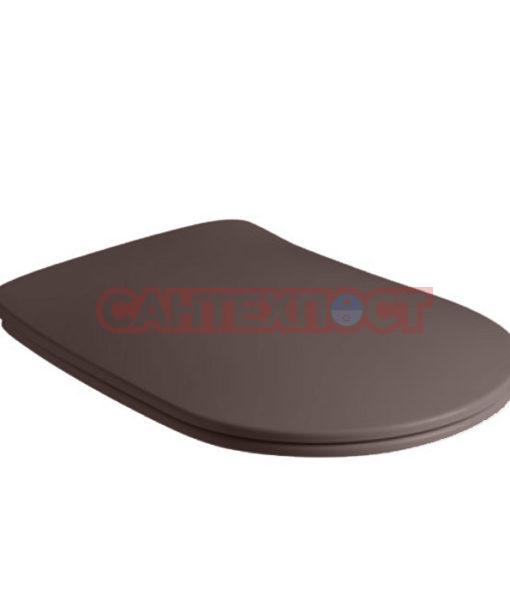 Сиденье с крышкой для унитазов Kerasan Nolita 539175 с микролифтом