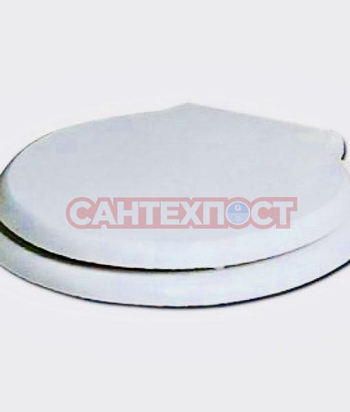 Сиденье с крышкой для унитазов Azzurra Comoda (1800/F bi/br) с микролифтом