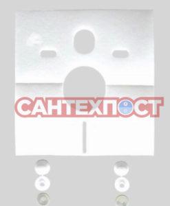 Комплект для звукоизоляции Sanit 16.002.00.0000 для подвесных унитазов/биде